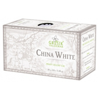 China White, bílý čaj porcovaný