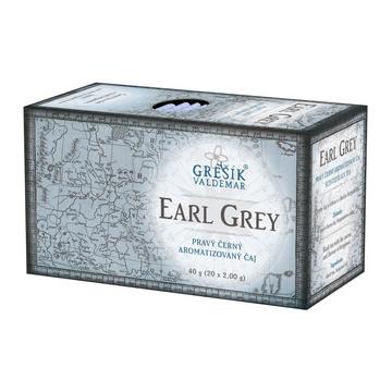 Earl Grey, černý čaj, porcovaný