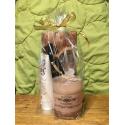 Čokoláda, svíčka a krém na ruce