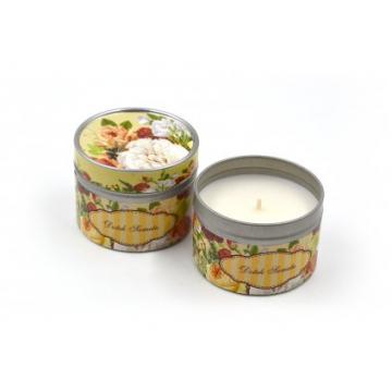DOTEK SAMETU - vonná svíčka v plechové dóze