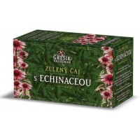 Zelený čaj s Echinaceou, porcovaný