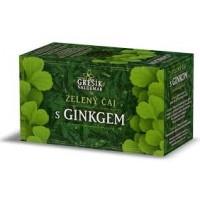 Zelený čaj s Ginkgem, porcovaný