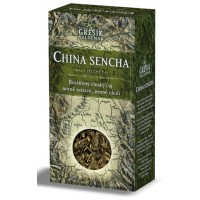 China Sencha, sypaný