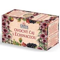 Ovocný čaj s echinaceou, porcovaný