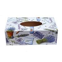 Box na kapesníky levandule a petĂşnie