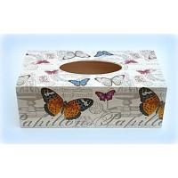 Box na kapesníky Motýli