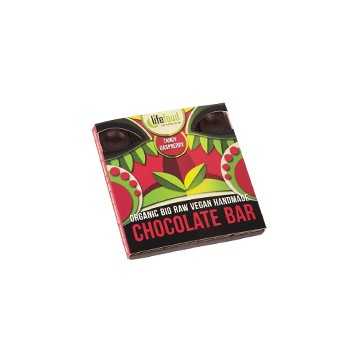 Raw čokoláda malinová  bio