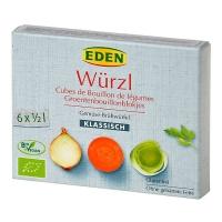 Würzl bio - zeleninový bujón kostky