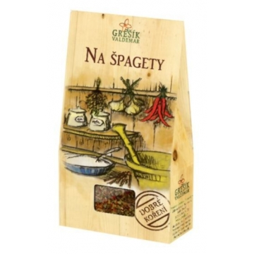 Na špagety - Dobré koření
