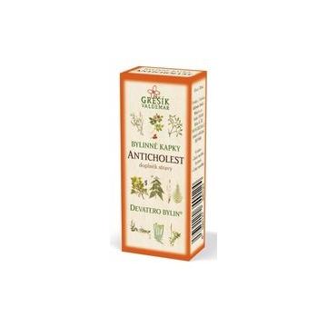 Anticholest bylinné kapky (40% líh)