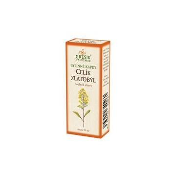 Celík zlatobýl bylinné kapky (40% líh)