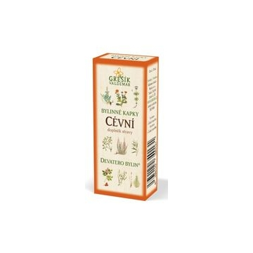 Cévní bylinné kapky (40% líh)