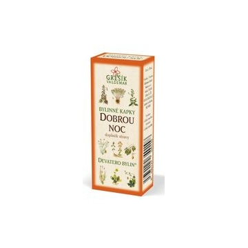 Dobrou noc bylinné kapky (40%líh)
