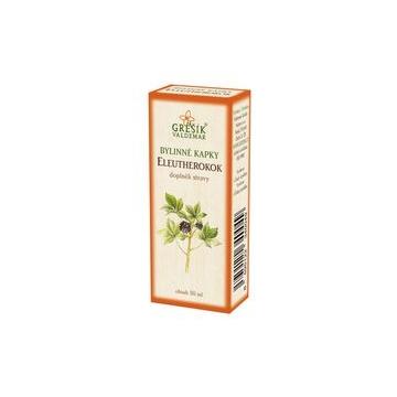 Eleutherokok bylinné kapky (40% líh)