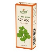 Ginko bylinné kapky (40% líh)