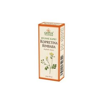 Kopretina řimbaba bylinné kapky (40% líh)
