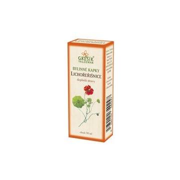 Lichořeřišnice bylinné kapky (40% líh)