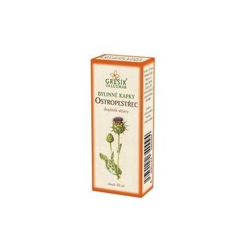 Ostropestřec bylinné kapky (40% líh)