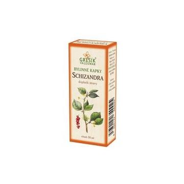 Schizandra bylinné kapky (40% líh)