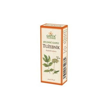 Tužebník bylinné kapky (40% líh)