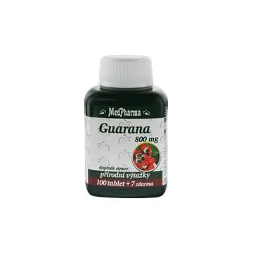 Guarana 800mg 107 tablet