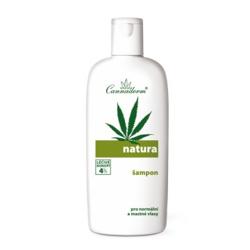 natura šampon na normální a mastné vlasy