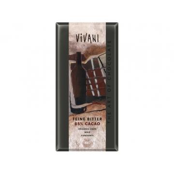 Bio hořká čokoláda 85% VIVANI
