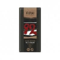 Bio hořká čokoláda 92% VIVANI