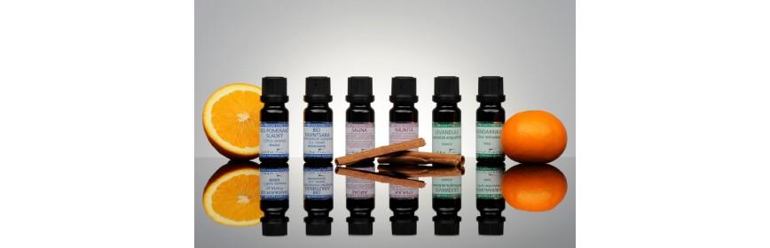 Přírodní éterické oleje a směsi